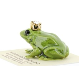 Birthstone Frog Prince April Simulated Diamond Miniatures by Hagen-Renaker image 2