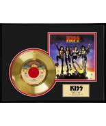 "KISS - ""Beth"" Framed 12"" x 16"" 24K Gold 45 Record - $154.95"