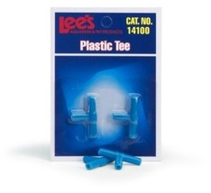 Lee's Aquarium & Pet Products Plastic Tee 2 Pack - $1.12