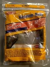 Dirt Devil Vacuum Cleaner Belt 12 Durabelt Qty of 2 New Sealed In Packag... - $6.85