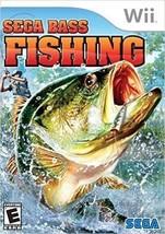 Sega Bass Fishing (Nintendo Wii, 2008) - $2.99