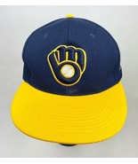 Milwaukee Brewers Snapback Hat Stadium Giveaway - $12.86