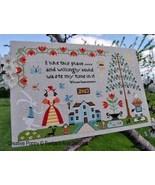 I Like This Place cross stitch chart Barbara Ana Designs - $10.80