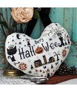 Halloween Heart cross stitch chart Barbara Ana Designs - $10.80