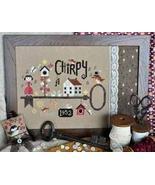 Chirpy (since....) cross stitch chart Barbara Ana Designs - $9.90