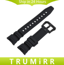 Black Silicone Rubber Watchband for Casio SGW-100 Sports Waterproof Watc... - $15.99+