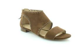 MICHAEL Michael Kors Broderick Sandal Suede DK Caramel, Size 5 M - $69.29