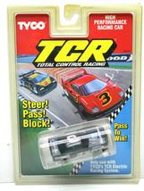 TYCO NASCAR #18 Red HARDEES Russ Wheeler UNRELEASED Chevy Slot Car CHROME Body