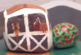 Farm Scene (Painted Rocks) image 3
