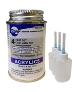 Weld-On 4 Acrylic Adhesive - 4 Oz and 3 Pack of Weld-On Applicator Bottl... - $25.95