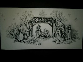 Nativity Scene Holy Family Vintage Christmas Card BOGO Sale  - £5.75 GBP