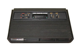 Atari 2600 Launch Edition Black Stationary System console only - $28.41