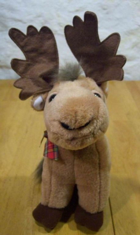 Primary image for Russ CUTE HOLIDAY MOOSE REINDEER Plush Stuffed Animal