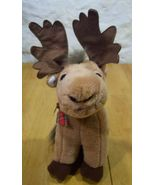 Russ CUTE HOLIDAY MOOSE REINDEER Plush Stuffed Animal - $18.50
