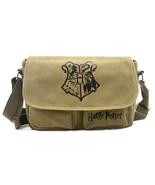 """Hogwarts Crest - Harry Potter 8"""" Canvas Satchel Bag - $27.81"""