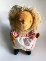 "Vintage Beatrix Potter Peter Rabbit  Mrs Tiggy Winkle Plush toy Eden 8"" ... - $9.74"
