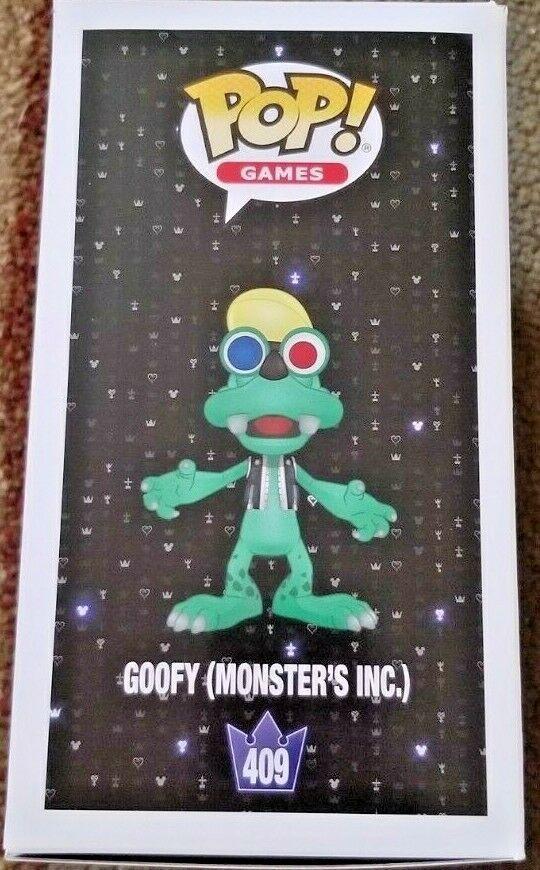 Funko Pop! Games Disney Kingdom Hearts III: Goofy (Monsters, Inc.)  #409
