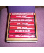 Radios Greatest Comedies 6 Cassette Boxed Set W.C. Fields Mae West Burns... - $5.00