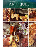 THE MAGAZINE ANTIQUES DEC. 1981 CHINESE GLASS MILLS HISTORIC - $5.95