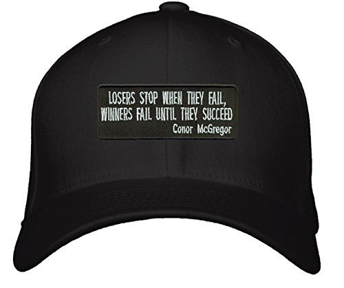 Conor McGregor Quote Hat - Losers Stop When and 50 similar items e802f0cc9596