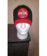Coca Cola Inspired Handmade Crochet Beanie - $23.00