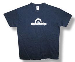Afghan Whigs-Star Logo-Navy Blue Lightweight  T-shirt - $18.99