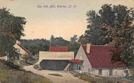 The Old Mill Warner New Hampshire 1908 postcard - $7.43