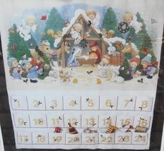 Sunset NATIVITY ADVENT CALENDAR Gallery Crewel Christmas Kit - Ruth More... - $100.00
