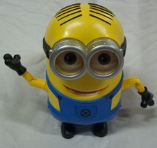 "Despicable Me Minion Movie ANIMATED TALKING  DAVE MINION 8"" Plastic Toy - $24.74"