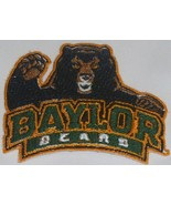 Baylor Bears Logo, Icon Logo, Helmet Iron On Patch - $4.99