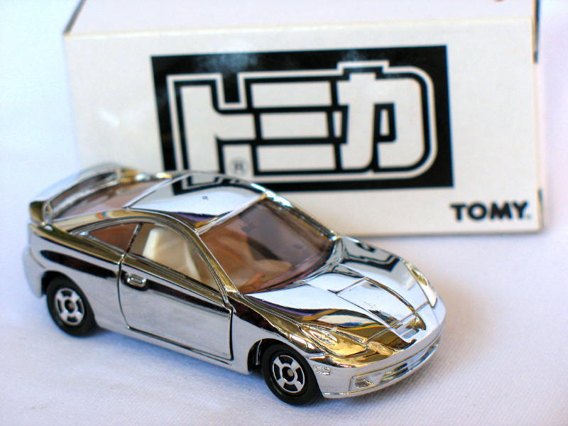 Primary image for Tomy 30th anniversary Toyota Celica Silver 1/60 Die Cast Model Car(Rare)