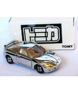 Tomy 30th anniversary Toyota Celica Silver 1/60 Die Cast Model Car(Rare) - $32.99