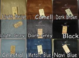 "3 Alpaca Wool Scarf Fine, So Soft Luxury Unisex Peru ""You choose the color"" - $30.00"