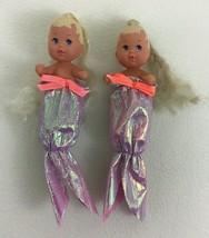 """Barbie Happy Family Baby Krissy 3"""" Blond Mermaid Tail Babies Lot Vintage... - $17.77"""