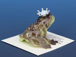Birthstone Frog Prince Kissing October Opal Miniatures by Hagen-Renaker image 3