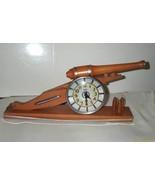 Rare Artillary Cannon Clock by Howard Clock Com... - $275.00