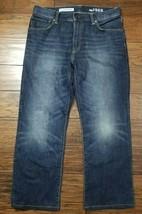"Mens Gap 1969 Standard Jeans Size: 32 Inseam: 27.5"" prof. Hemmed (InventoryM5) - $19.79"