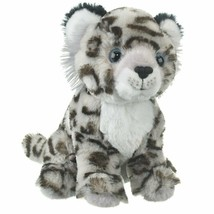 "Wildlife Artists 8"" H Sitting Snow Leopard Cub Plush Conversation Critte... - $11.73"