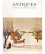 THE MAGAZINE ANTIQUES DEC. 1969 ENGLISH SILVER IN TEXAS - $5.95
