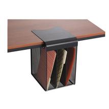 Safco Onyx Durable Vertical Hanging Storage Organizer Black Under Desk H... - $44.71