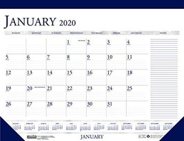 House of Doolittle 2020 Monthly Desk Pad Calendar, Classic with Notes Se... - $14.66