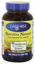 Earthrise Spirulina 500mg - $22.21