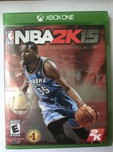 NBA 2K15 Microsoft Xbox One, 2014 - $6.79
