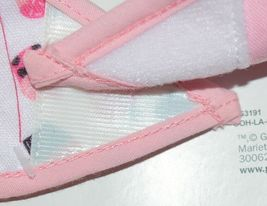 Baby Ganz BG3191 OohLaLa Bib Pink Cupcake Designs 0 Plus 100 Percent Cotton image 3