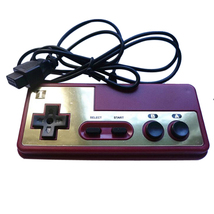 Japanese 8-bit Console Style For NES 9Pin Plug Cable Controller GamePad - $8.99