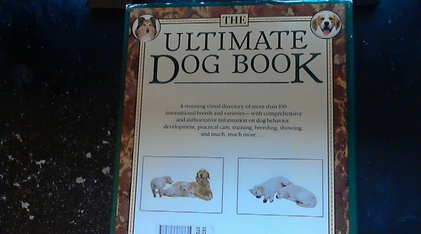 The Ultimate Dog Book By David Taylor (1990 Hardcover) image 2