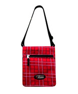 Tablet Carry Case Messenger Sling Bag RED Free Shipping Fully Padded  Ip... - $14.99