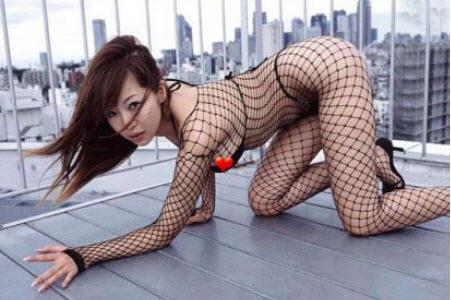 830 1 lot 2 pcSexy mesh stockings long sleeved bodystockings,elastic, free size, image 3