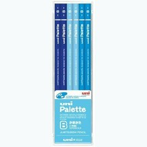US1043 Mitsubishi pencil Uni palette UNISTER B path ester Blue 12 pieces - $8.65