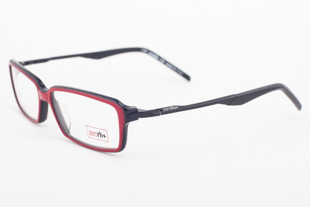 ZERORH+ QUBO Red & Black Eyeglasses RH200-01 RH 200 01